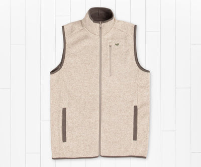 SOUTHERN MARSH COLLECTION Men's Outerwear OATMEAL / S Southern Marsh FieldTec Bozeman Vest || David's Clothing OBZVOAT