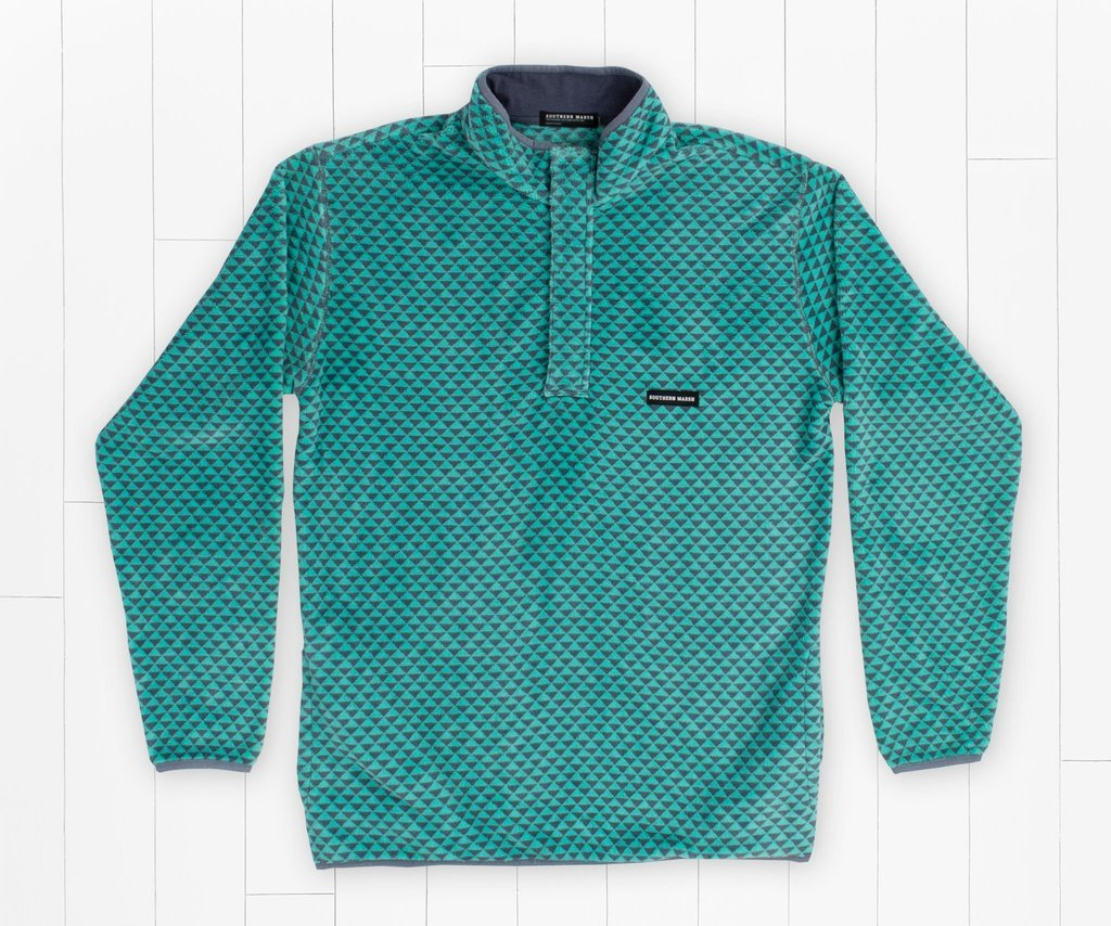 SOUTHERN MARSH COLLECTION Men's Pullover Southern Marsh Arapaho Fleece Pullover || David's Clothing