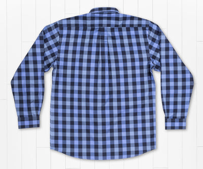 SOUTHERN MARSH COLLECTION Men's Sport Shirt Southern Marsh Blanco Plaid Dress Shirt || David's Clothing