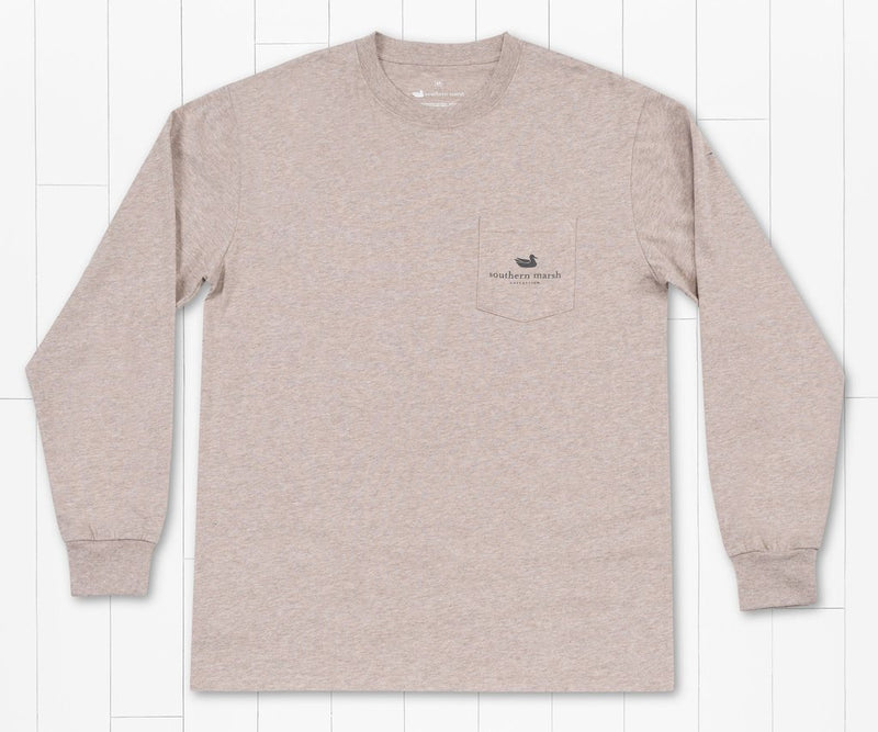 SOUTHERN MARSH COLLECTION Men's Tees Southern Marsh Mountain Pass Tee - Long Sleeve || David's Clothing