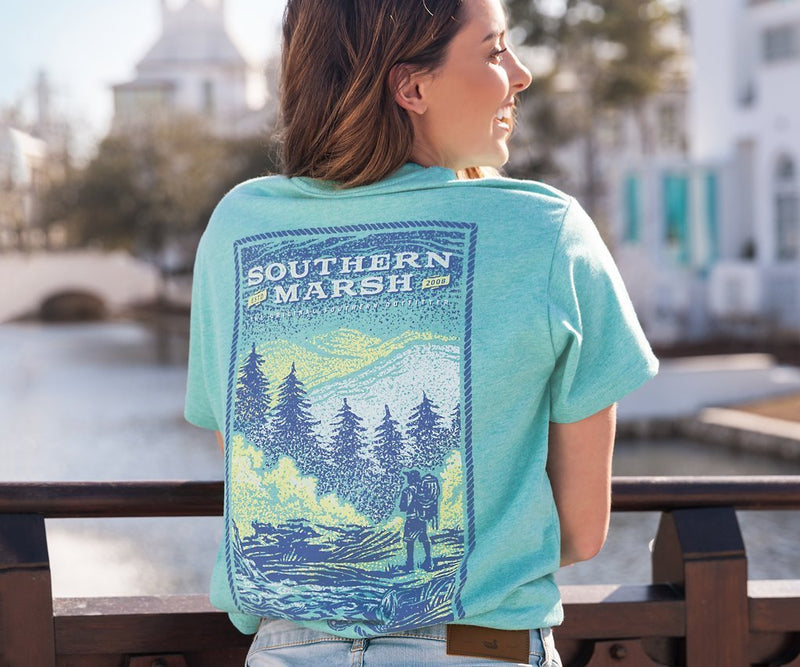 SOUTHERN MARSH COLLECTION Men's Tees Southern Marsh Relax & Explore Tee || David's Clothing