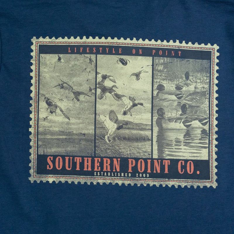 Southern Point Co. Kid's Tees Southern Point Youth LS Duck Stamp Tee || David's Clothing