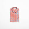 Southern Point Co. Men's Sport Shirt DARK SALMON / M Southern Point Stretch Hadley Sportshirts || David's Clothing HS07
