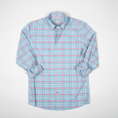 Southern Point Co. Men's Sport Shirt Southern Point Youth Hadley Performance Sportshirts || David's Clothing