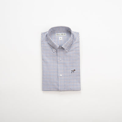 Southern Point Co. Men's Sport Shirt WHITE / M Southern Point Stretch Hadley Sportshirts || David's Clothing HS08