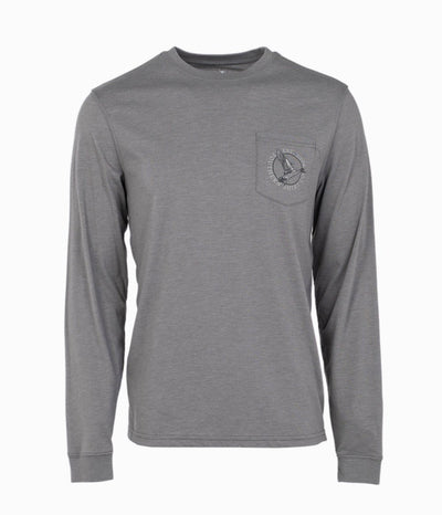 SOUTHERN SHIRT CO. Men's Tees Southern Shirt Mallard Migration LS Tee || David's Clothing