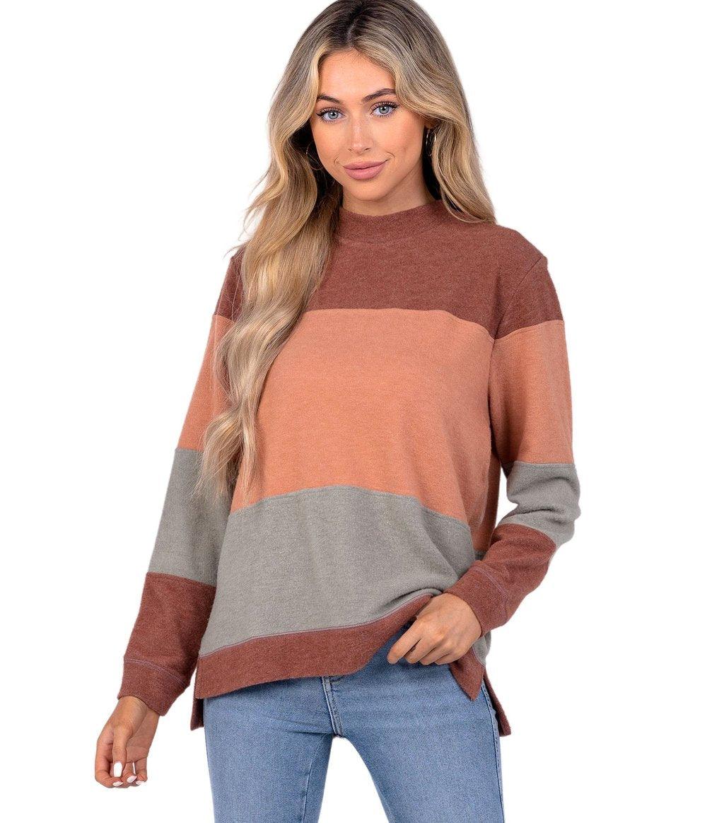 SOUTHERN SHIRT CO. Women's Sweater MAHOGANY / XS 2C032-928
