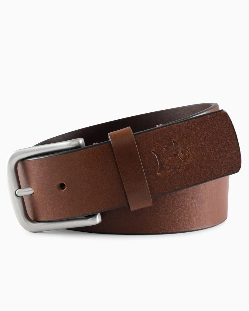 SOUTHERN TIDE Accessories Southern Tide Boys Leather Belt || David's Clothing