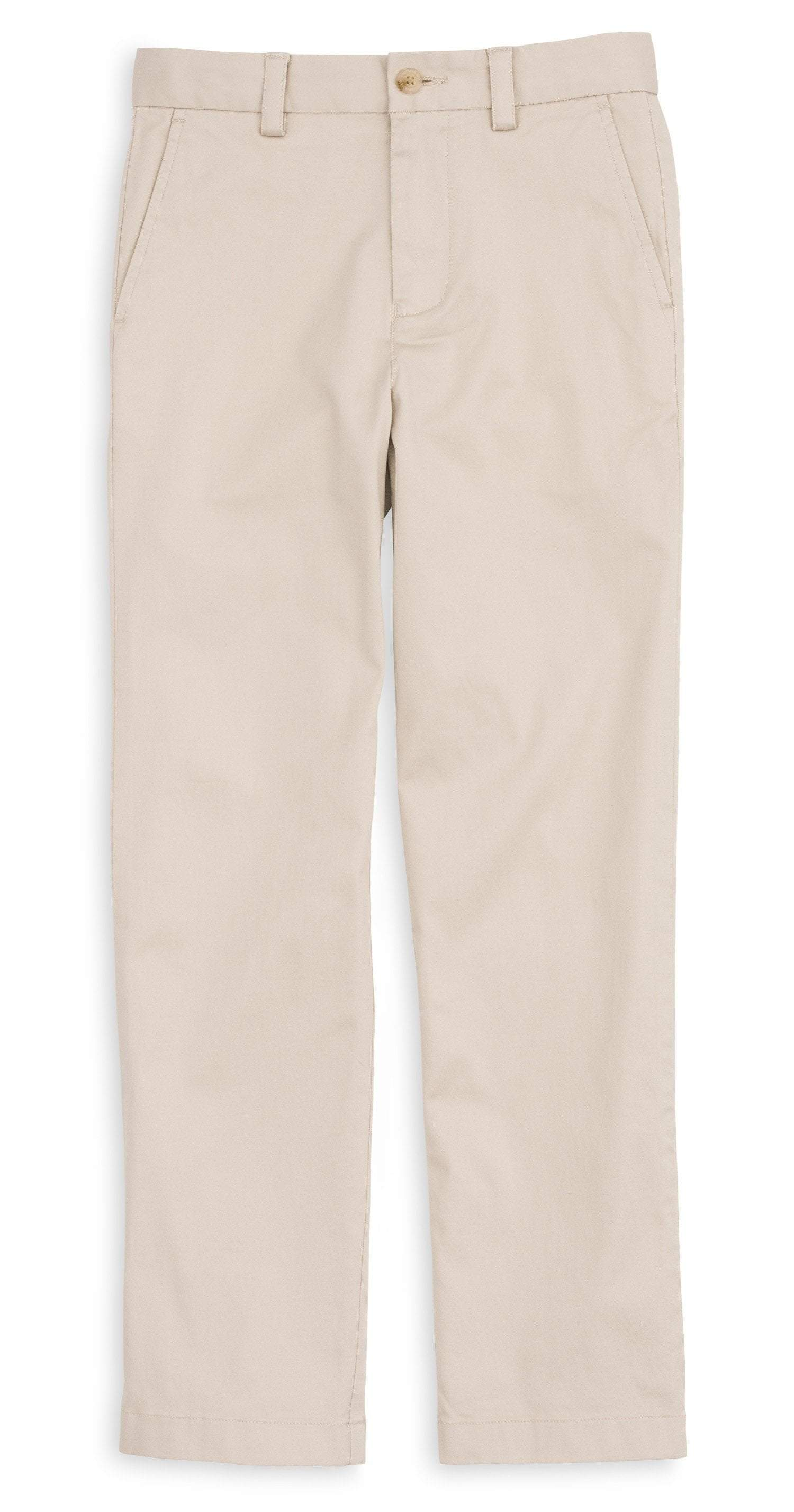 SOUTHERN TIDE Boy's Pants Southern Tide Boy's Channel Marker Pant - Stone || David's Clothing