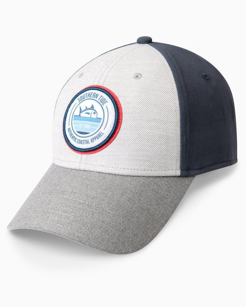 SOUTHERN TIDE Men's Hats LT GREY  H Southern Tide Rising Skipjack Snapback Performance Hat || David's Clothing 73672327