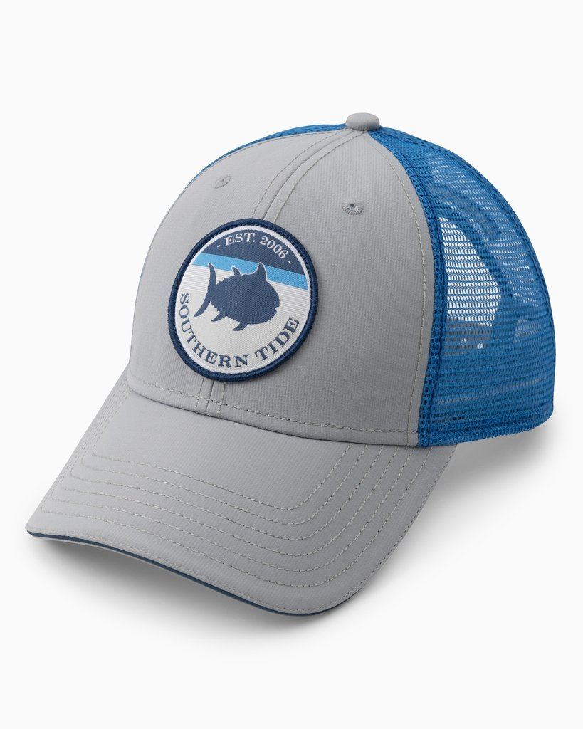 SOUTHERN TIDE Men's Hats QUARRY Southern Tide On Par Performance Trucker Hat || David's Clothing 78842750
