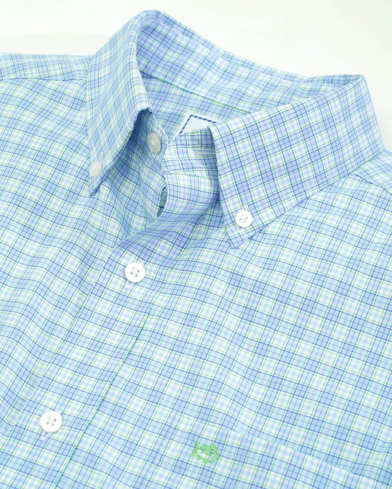 SOUTHERN TIDE Men's Sport Shirt Southern Tide Crane Intercoastal Performance Sport Shirt || David's Clothing