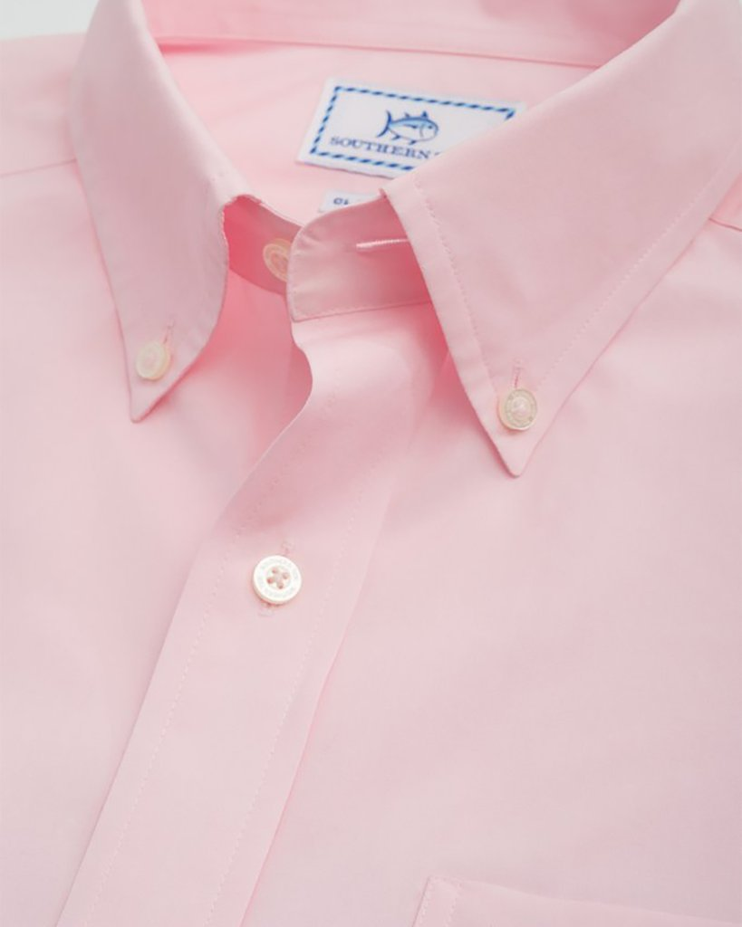 SOUTHERN TIDE Men's Sport Shirt Southern Tide Sullivans Solid Button Down Shirt || David's Clothing