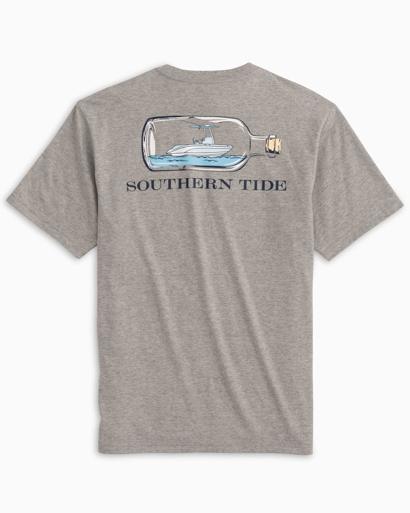 SOUTHERN TIDE Men's Tees Southern Tide Boat in a Bottle Tee || David's Clothing
