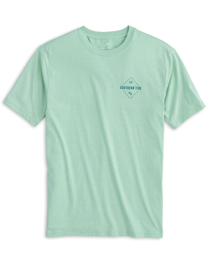 SOUTHERN TIDE Men's Tees Southern Tide Lure Heather T-Shirt || David's Clothing