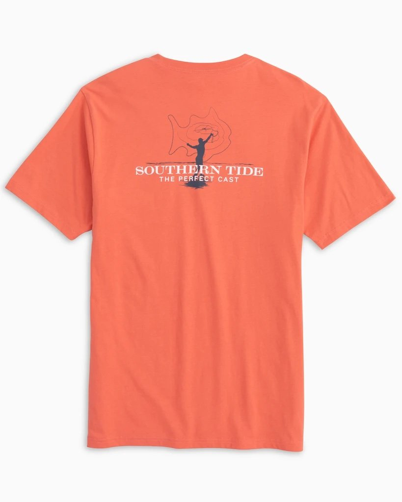 SOUTHERN TIDE Men's Tees Southern Tide Perfect Cast T-Shirt || David's Clothing