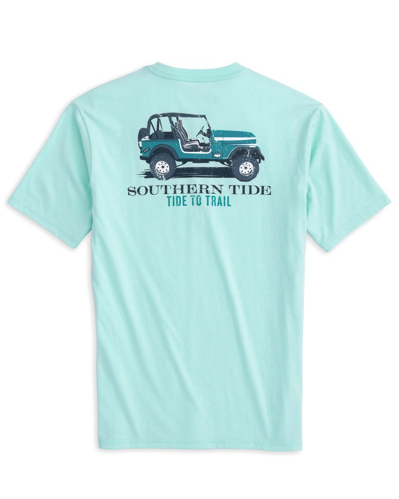 SOUTHERN TIDE Men's Tees Southern Tide Tide To Trail T-Shirt || David's Clothing