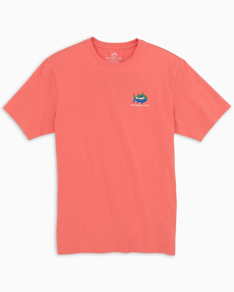 SOUTHERN TIDE Men's Tees Southern Tide Water Take Off T-Shirt || David's Clothing