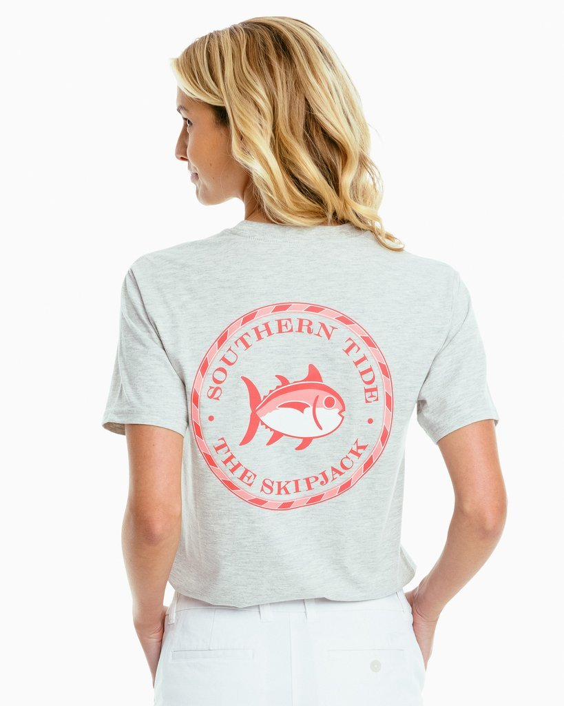 SOUTHERN TIDE Women's Tees Southern Tide Women's Skipjack Circle Tee || David's Clothing