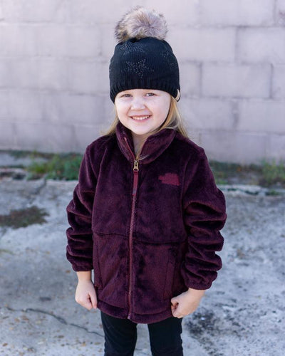 THE NORTH FACE Girl's Outerwear The North Face Girls' Osolita Jacket - Deep Garnet || David's Clothing