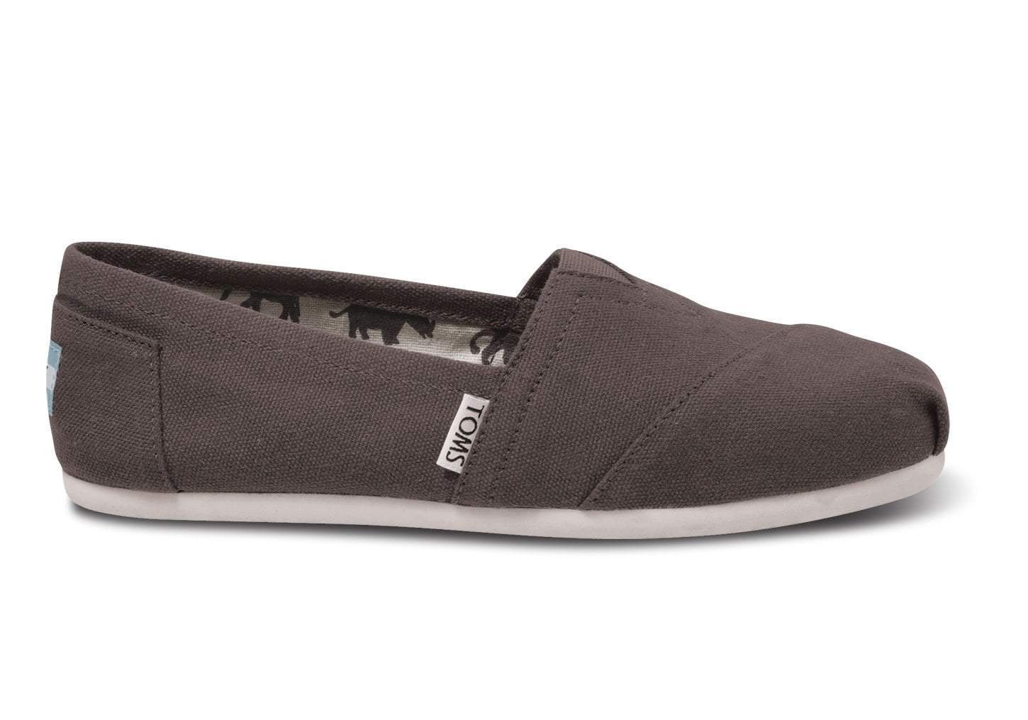 Toms Shoes Women's Shoes Toms Women's Classic Slip On - Ash || David's Clothing