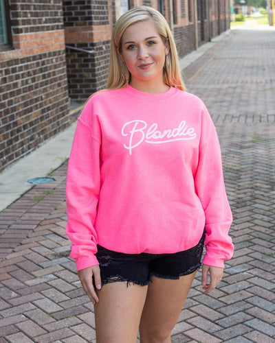 WKENDER Women's Sweater Blondie Graphic Sweatshirt || David's Clothing