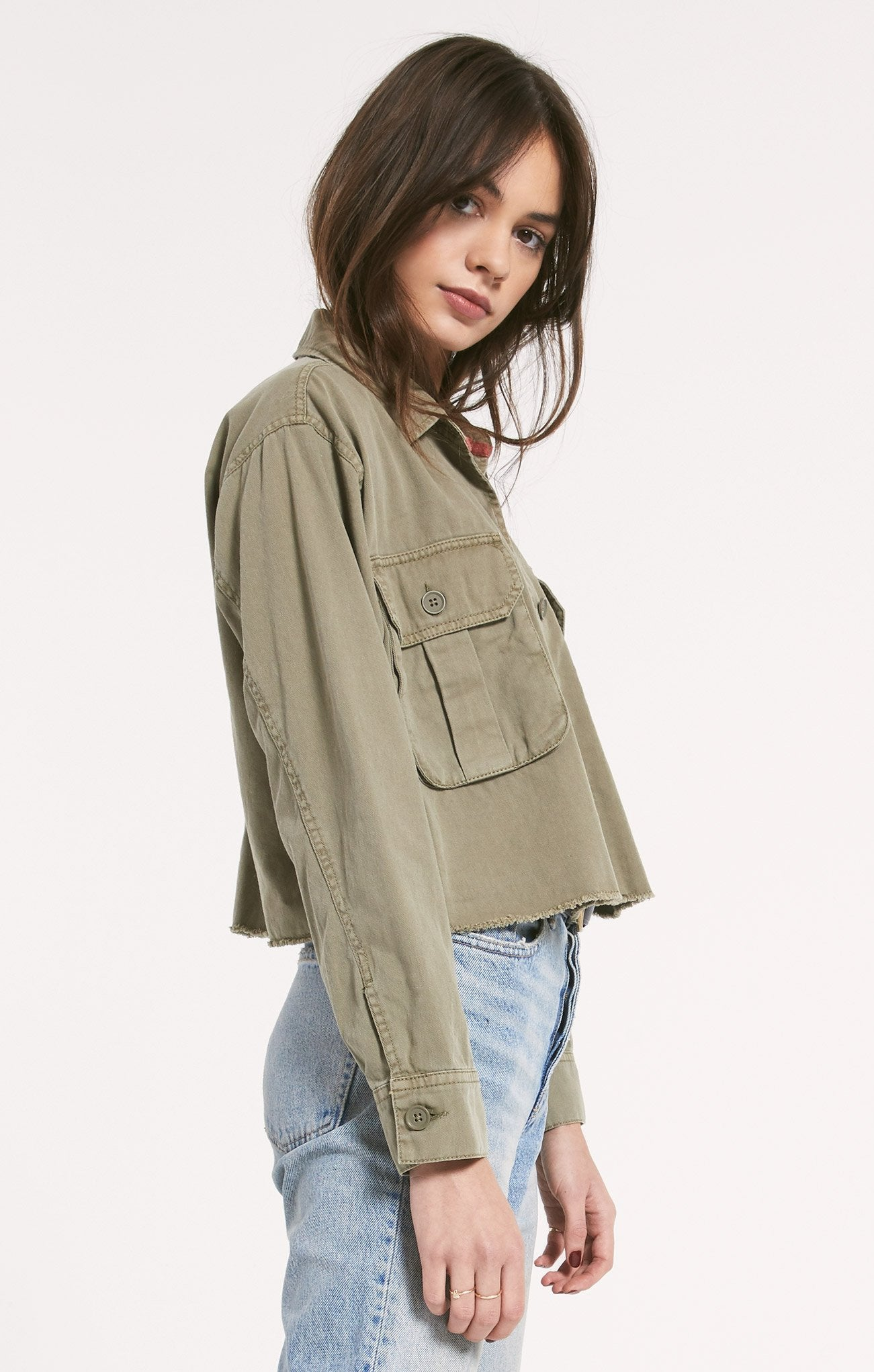 Z SUPPLY Women's Outerwear Rag Poets Savona Jacket || David's Clothing