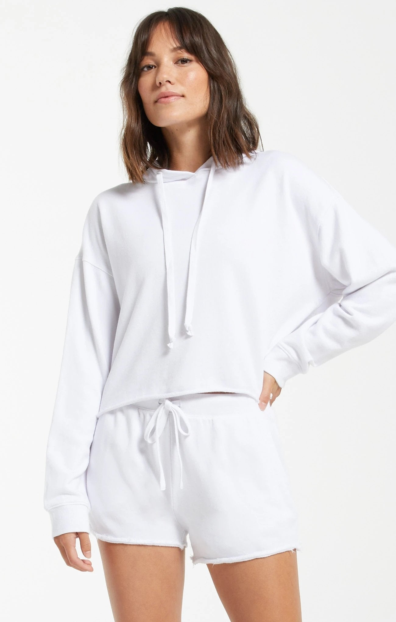 Z SUPPLY Women's Top Z Supply Gia Washed Hoodie || David's Clothing