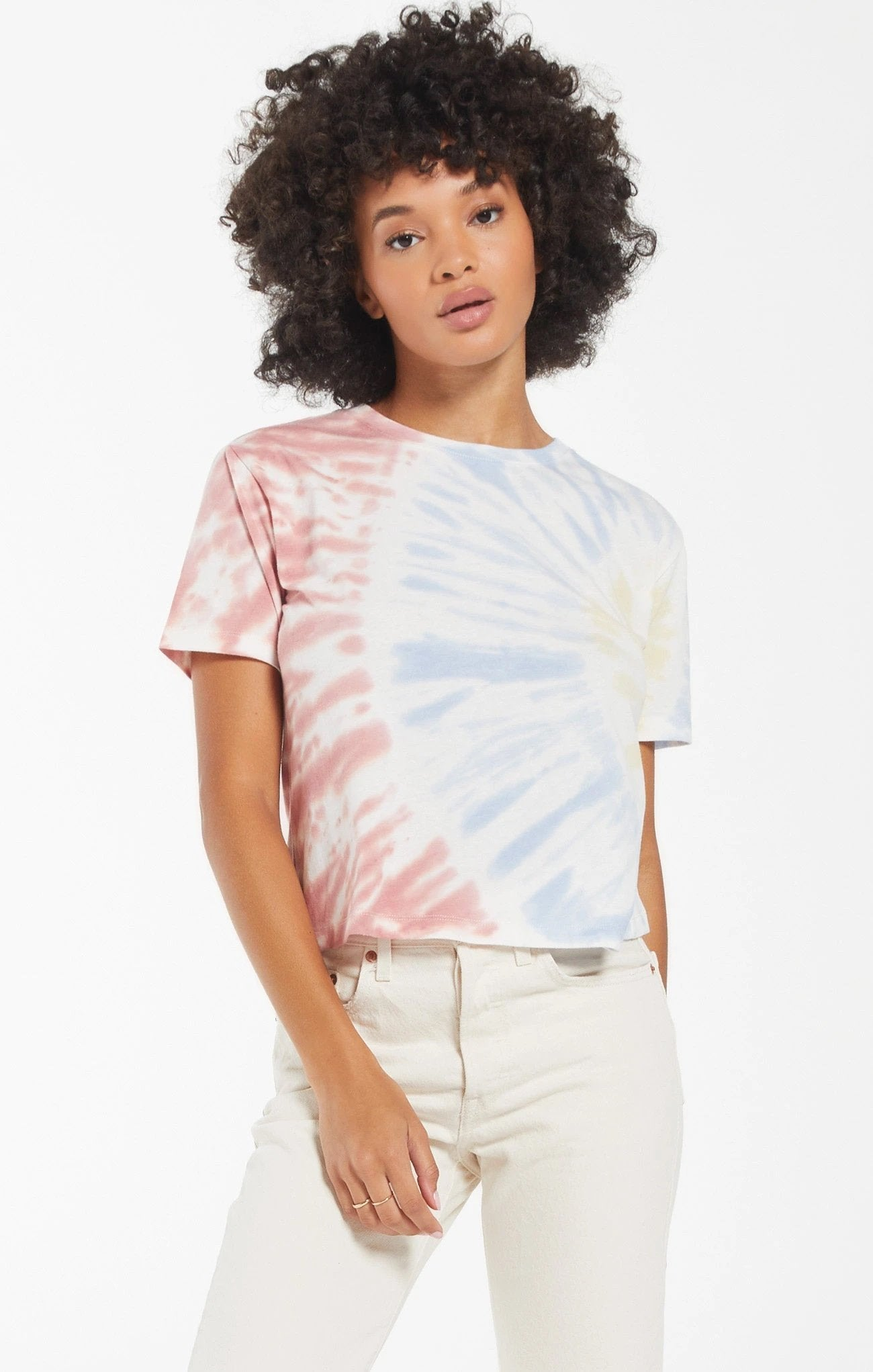 Z SUPPLY Women's Top Z Supply Sol Tie-Dye Tee || David's Clothing