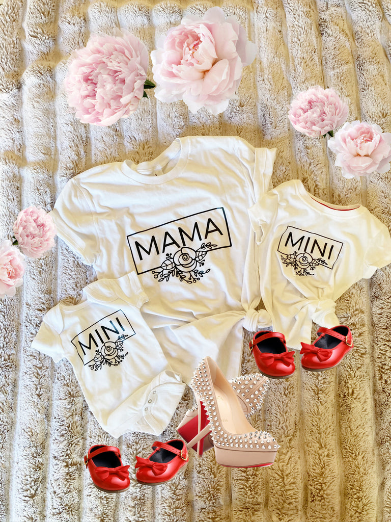 "Mommy And Me Outfits ""Mama and Mini"""