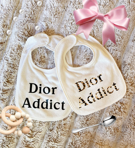 "Bib Set ""Dior Addict"""
