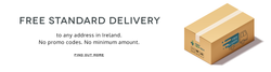 We deliver to Ireland for Free!
