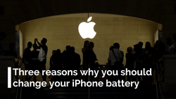 Three reasons why you should change your iPhone battery