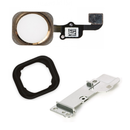 Apple iPhone 6 / 6 Plus Home Button Flex Cable+Holder Rubber+Metal Bracket - Gold for [product_price] - First Help Tech