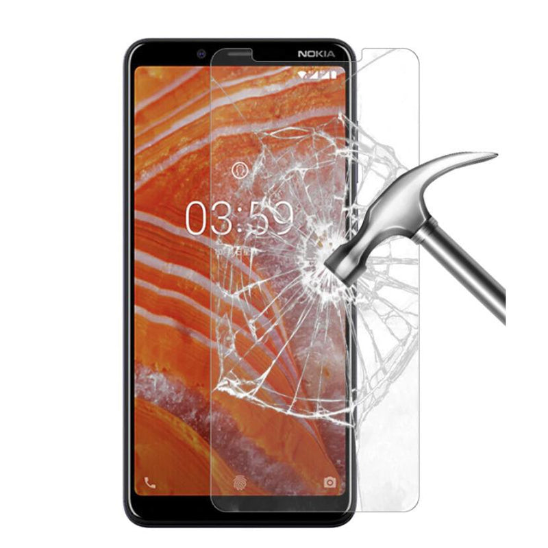 Nokia 3.1 Plus Tempered Glass