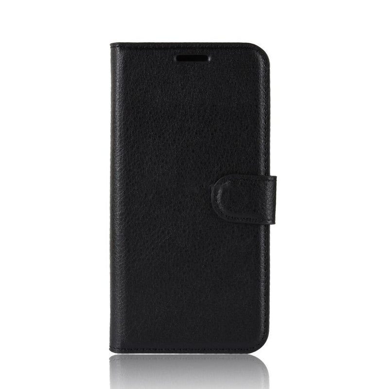 Huawei P30 Wallet Case Cover PU Leather Holder Card Slots Black