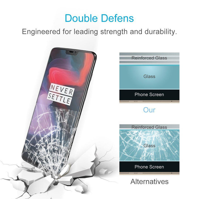 OnePlus 6 Premium Tempered Glass for [product_price] - First Help Tech