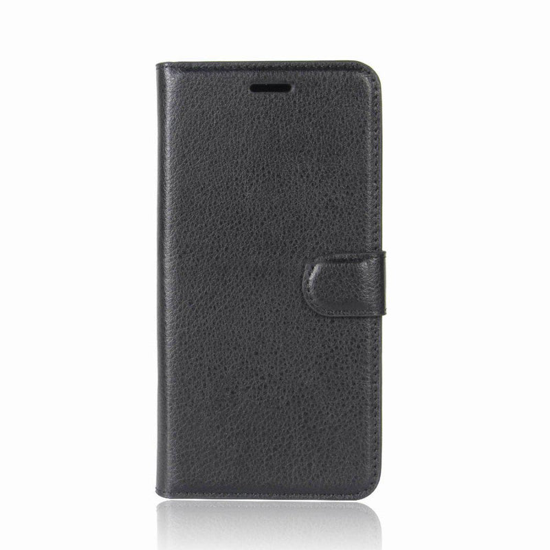 Samsung Galaxy S9 Wallet Case Cover PU Leather Black