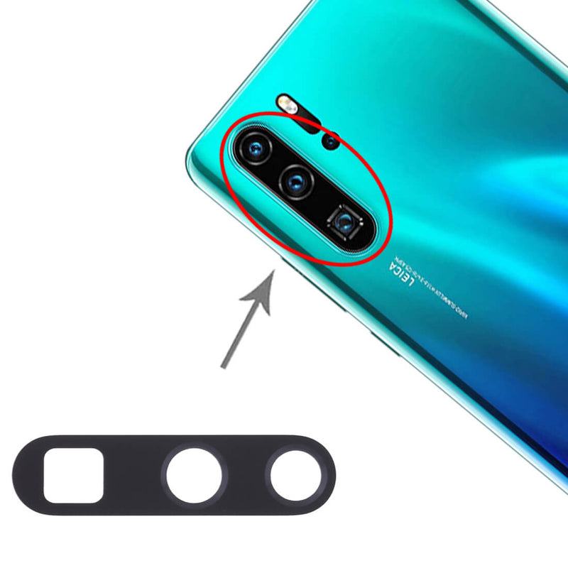 Huawei P30 Pro Camera Lens Rear Glass Cover With Adhesive
