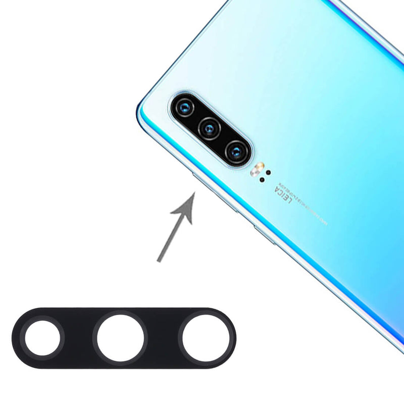 Huawei P30 Camera Lens Rear Glass Cover With Adhesive