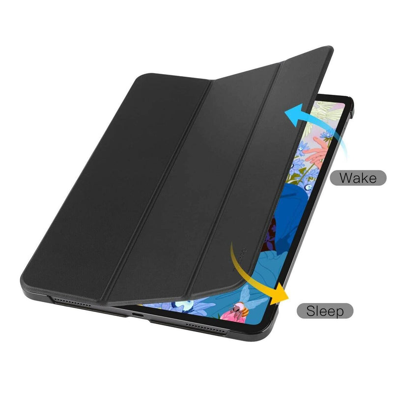 Apple iPad Pro 11 2018 Case Smart Trifold Hybrid Cover Black