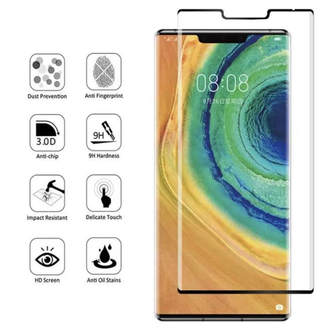 Huawei Mate 30 Pro 5G Full Coverage 9D Tempered Glass