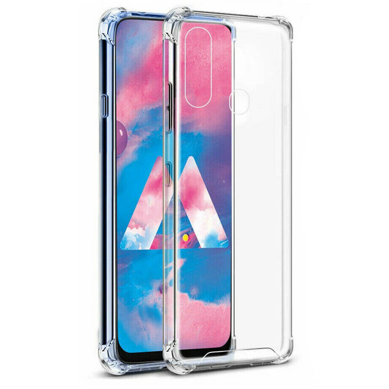 Samsung Galaxy A20e Case Cover Clear ShockProof Soft TPU Silicone