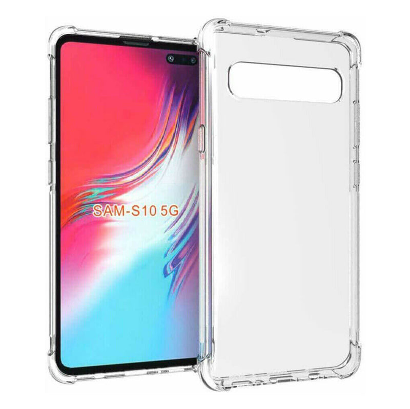Samsung Galaxy S10 5G Case Cover Clear ShockProof Soft TPU Silicone