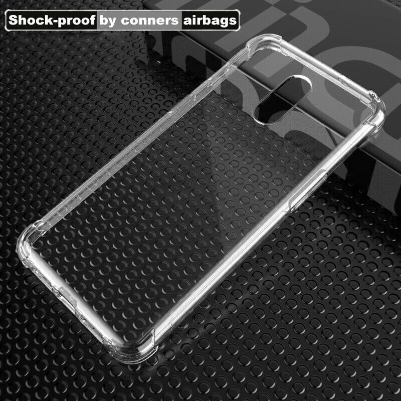 OnePlus 7 / 6T Case Cover Clear ShockProof Soft TPU Silicone