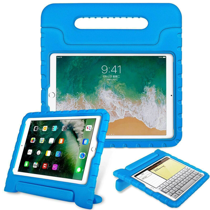 Apple iPad Air 2019 Kids Case Shockproof Cover With Stand Blue