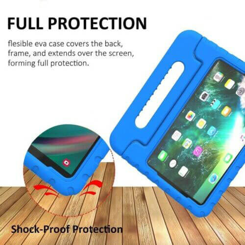 Apple iPad Air / Air 2 Kids Case Shockproof Cover With Stand Blue