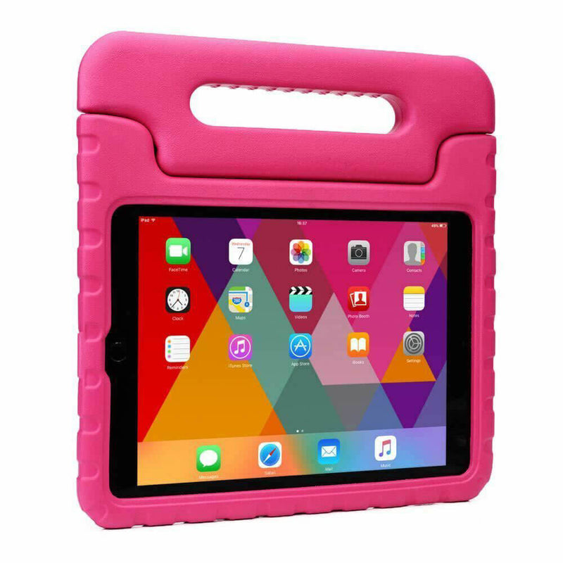 Apple iPad Air / Air 2 Kids Case Shockproof Cover With Stand Pink