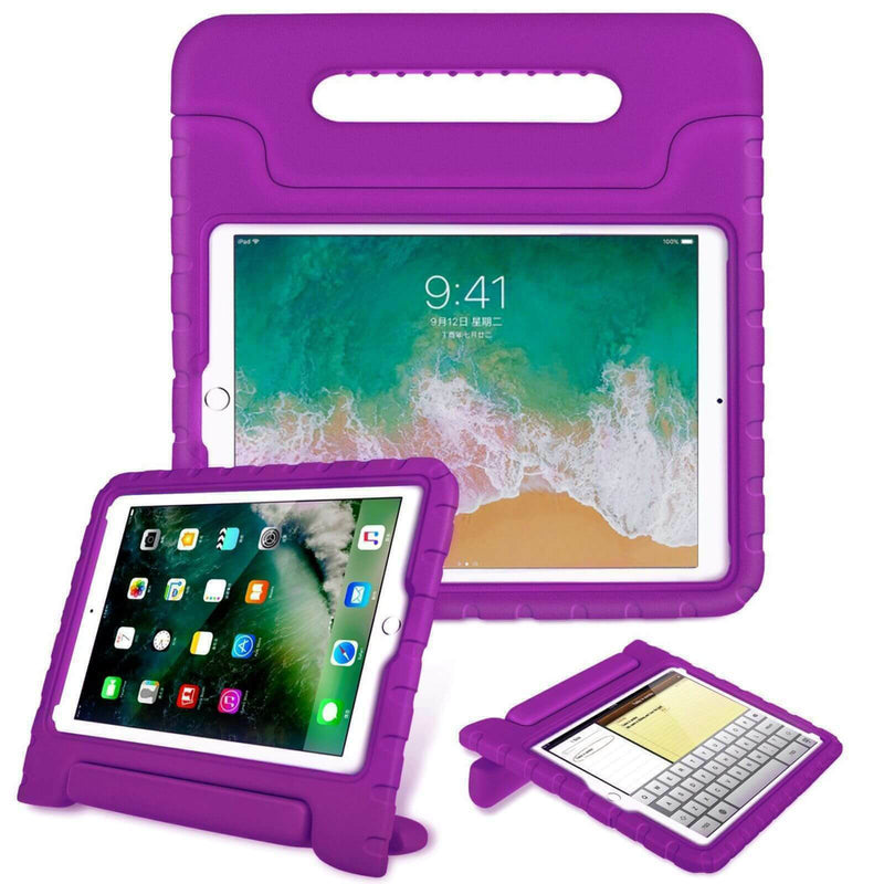Apple iPad Mini 4 5 Kids Case Shockproof Cover With Stand Purple