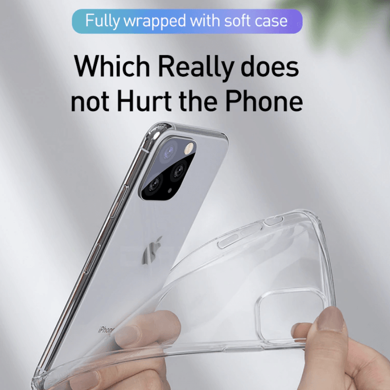 Apple iPhone 11 Pro Soft TPU Case Crystal Clear Thin Cover